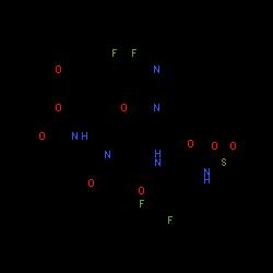 ChemSpider 2D Image | glecaprevir | C38H46F4N6O9S