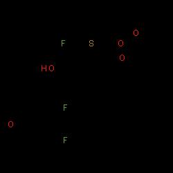 ChemSpider 2D Image | Fluticasone propionate | C25H31F3O5S