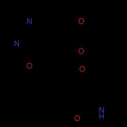 ChemSpider 2D Image | 6-[(6,7-Dimethoxy-4-quinazolinyl)oxy]-N,2-dimethyl-1-benzofuran-3-carboxamide | C21H19N3O5