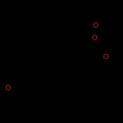 ChemSpider 2D Image | Medroxyprogesterone 17-acetate | C24H34O4