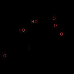 ChemSpider 2D Image | Triamcinolone acetonide | C24H31FO6