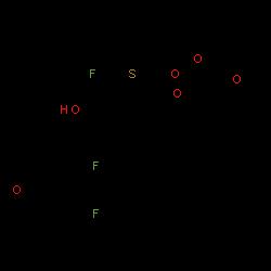 ChemSpider 2D Image | Fluticasone furoate | C27H29F3O6S
