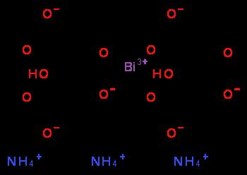 Ammonium bismuth citrate